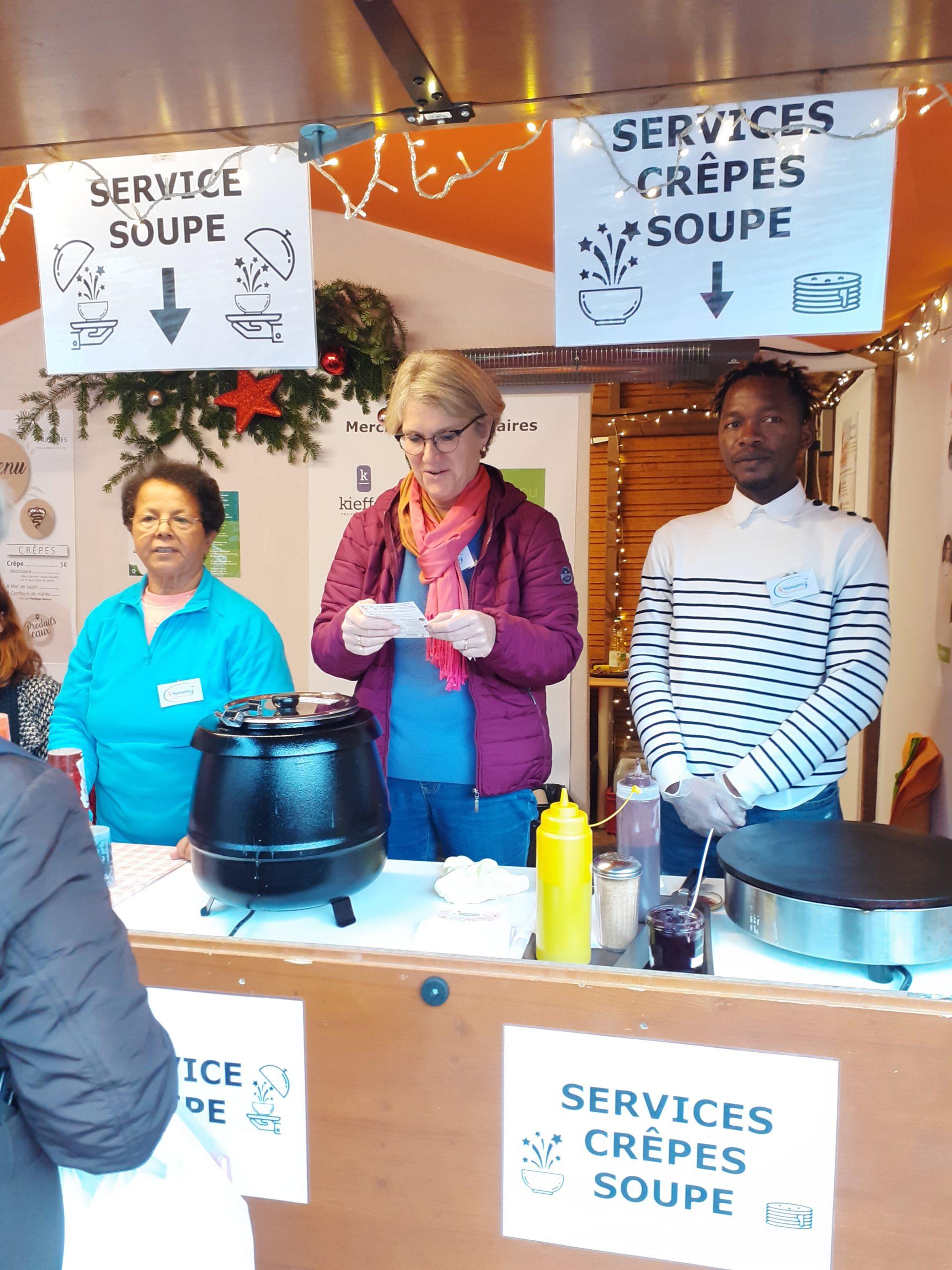 service de la soupe étoilée