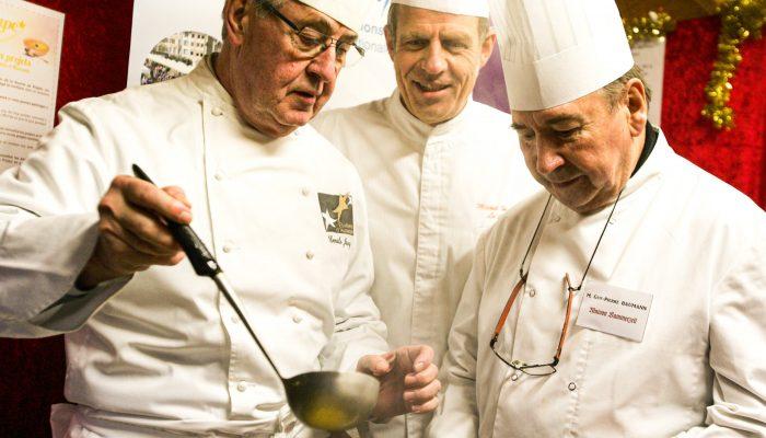 3 chefs soupe étoilée