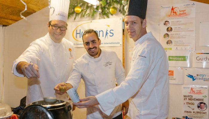 chefs soupe étoilée